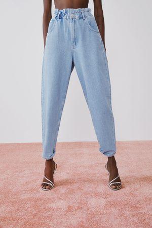 Zara Jean avec taille plissée