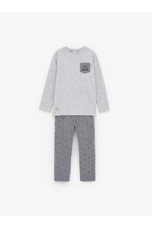 Zara Pyjama en popeline boston