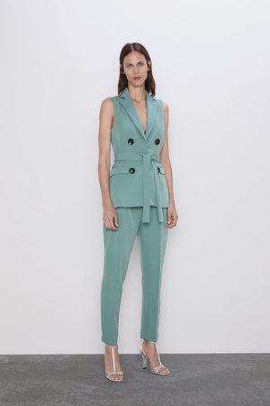 Zara Pantalon à pinces
