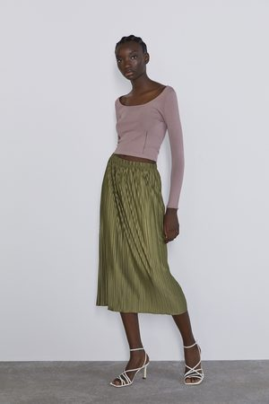 Zara Jupe plissée