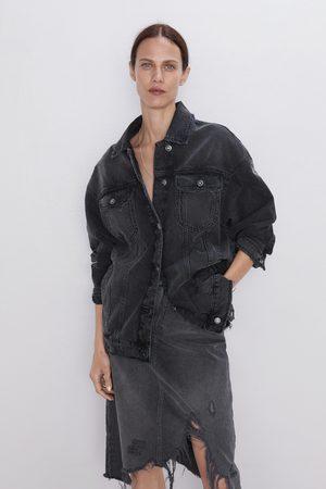 Zara Jupe en jean à déchirures