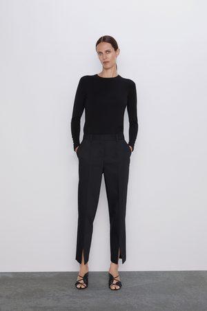 Zara Pantalon à fentes