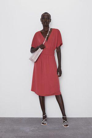 Zara Robe à taille élastique