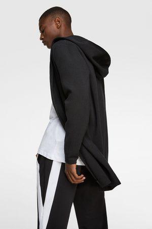 Zara Homme Cardigans - Cardigan à capuche