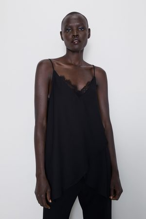 Zara Top style lingerie avec fente