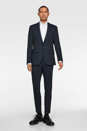 Zara Veste de costume structurée confort en maille quadriextensible