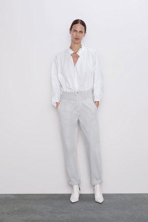 plus tard Design moderne femme Jean zw premium '80s tapered ice stone