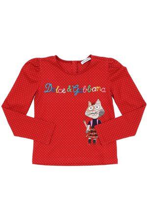 Dolce & Gabbana T-shirt En Jersey De Coton Imprimé
