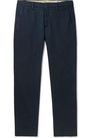 NN.07 Theo Tapered Cotton-blend Chinos