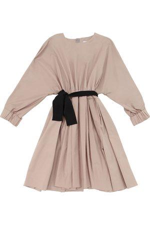 Unlabel Stretch Cotton Poplin Dress