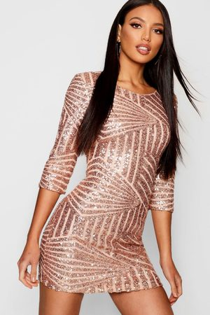 Boohoo Collection Robe Moulante À Sequins
