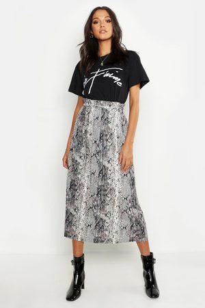 Boohoo T-Shirt À Slogan Je Tamie Tall