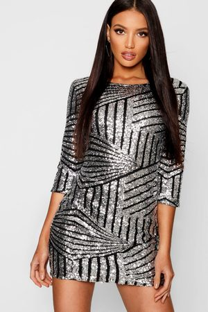 Boohoo À Robe Moulante Sequins Collection 80OPwkXn