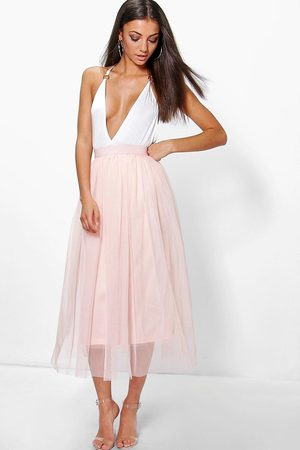Boohoo Collection Grandes Tailles Jupe -Longue En Tulle
