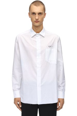 OFF-WHITE Homme Chemises - Striped Classic Cotton Shirt