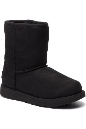 UGG Fille Chaussures - Chaussures - Kids' Classic Short II Wp 1019646K Blk/Black
