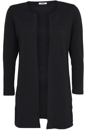Only Long Ample Cardigan Women Black