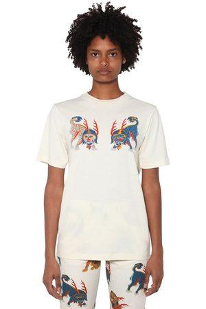 KIRIN Femme T-shirts - Front Printed Cotton Jersey T-shirt