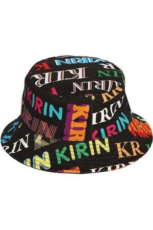 KIRIN Femme Chapeaux - Printed Cotton Denim Bucket Hat