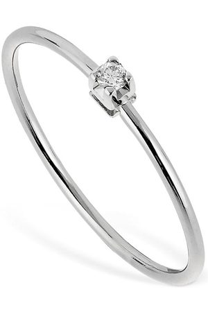 VANZI Femme Bagues - 18kt White Gold & Diamond Ring