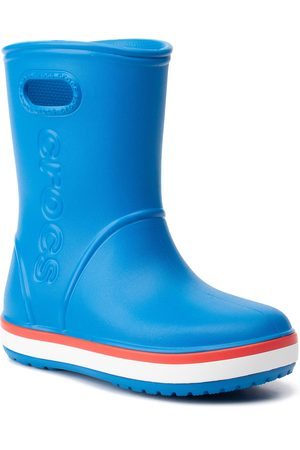 Crocs Bottes de pluie - Crocband Rain Boot K 205827 Bright Cobalt/Flame