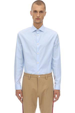 Gucci Cotton Fides Striped Shirt
