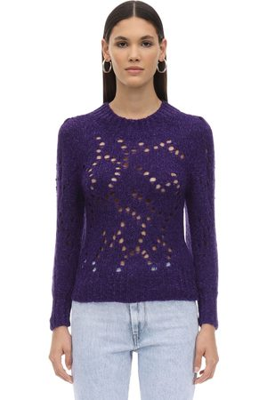 Isabel Marant Sineady Alpaca Blend Knit Sweater