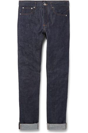 A.P.C Petit Standard Slim-fit Dry Selvedge Denim Jeans
