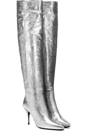 ZIMMERMANN Bottes en cuir métallisé