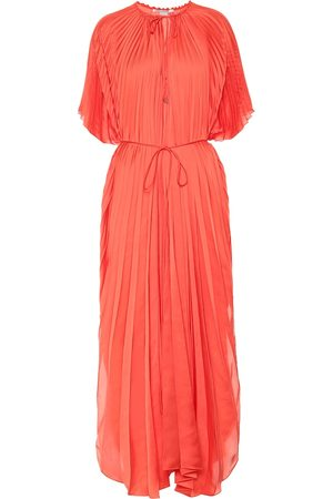 Stella McCartney Femme Robes - Robe Nowra plissée en satin