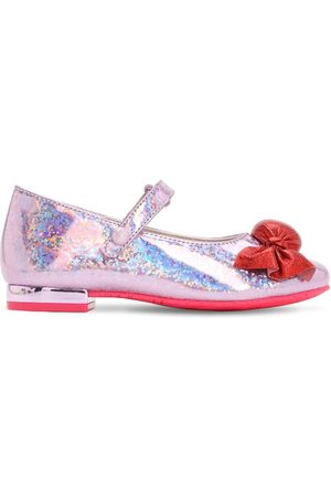 "SOPHIA WEBSTER Chaussures En Cuir Pailleté ""mary-jane"""
