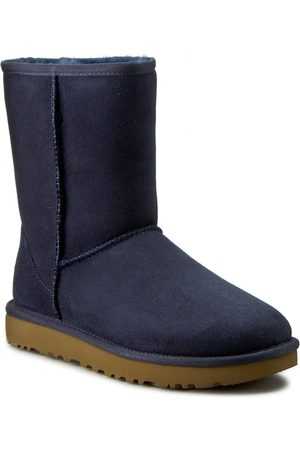 UGG Chaussures - W Classic Short II 1016223 W/Navy