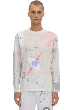 KLSH - KIDS LOVE STAIN HANDS T-shirt En Jersey De Coton Imprimé Manches Longues
