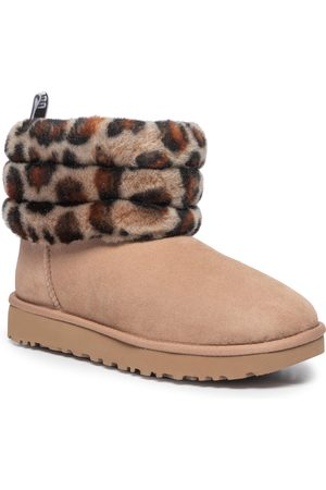 UGG Chaussures - W Fluff Mini Quilted Leopard 1105358 Amp