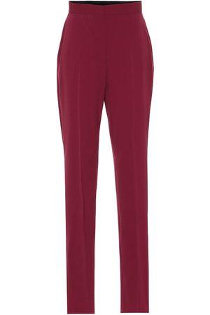 Stella McCartney Pantalon en crêpe