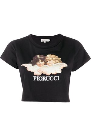 Fiorucci Top crop Vintage Angels