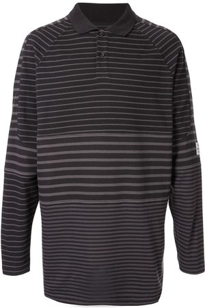 MARTINE ROSE Panelled polo shirt