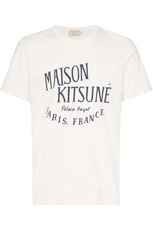 Maison Kitsuné T-shirt à logo imprimé