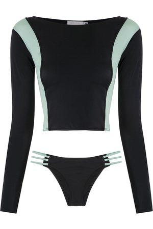 Brigitte Femme Manches longues - Bikini à top à manches longues