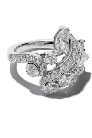 De Beers Femme Bagues - 18kt Adonis Rose cluster diamond ring