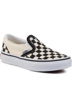Vans Tennis - Classic Slip-On VN000ZBUEO11 (Checkerboard) Black/Wht