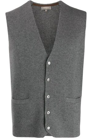 N.PEAL Homme Débardeurs - Cashmere Carnaby knitted vest
