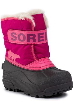 sorel Bottes de neige - Childrens Snow Commander NC1960 Tropic Pink/Deep Blush 652