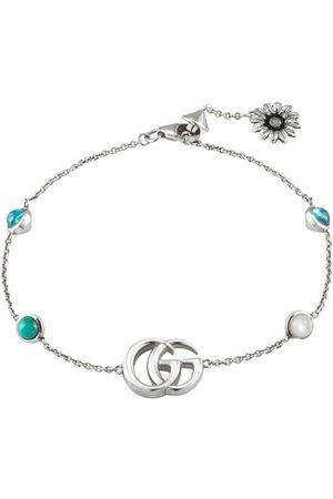 Gucci Bracelet Double G à fleurs