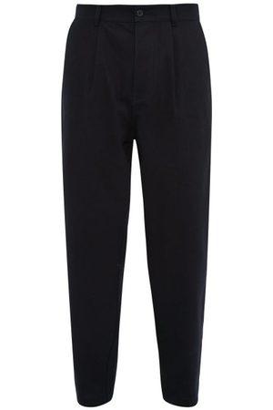 Raey Pantalon ample en coton à plis