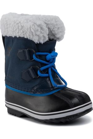 sorel Bottes de neige - Childres Yoot Pac Nylon NC1962 Collegiate Navy/Super Blue/ Marine Style Universitaire/Ultra 465