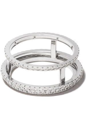 De Beers Bague The Horizon en or blanc 18ct ornée de diamants