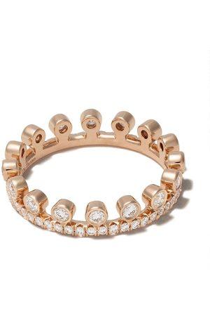 De Beers Femme Bagues - Bague Drewdrop en or rose 18ct pavée de diamants