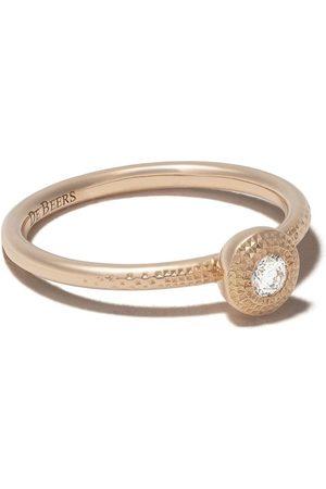 De Beers Bague Talisman en or rose 18ct orné de diamants