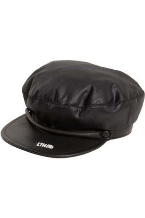 Heron Preston Leather & Nylon Cap